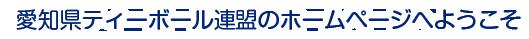 愛知県ティーボール連盟のホームページへようこそ